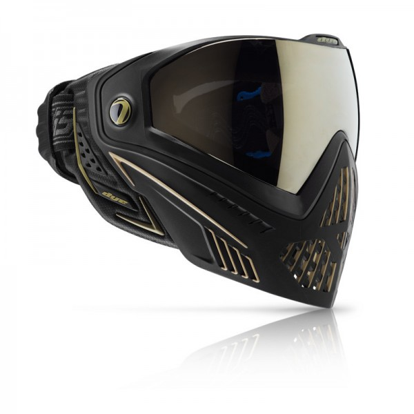 Dye I5 ONYX GOLD Thermal Paintball Maske