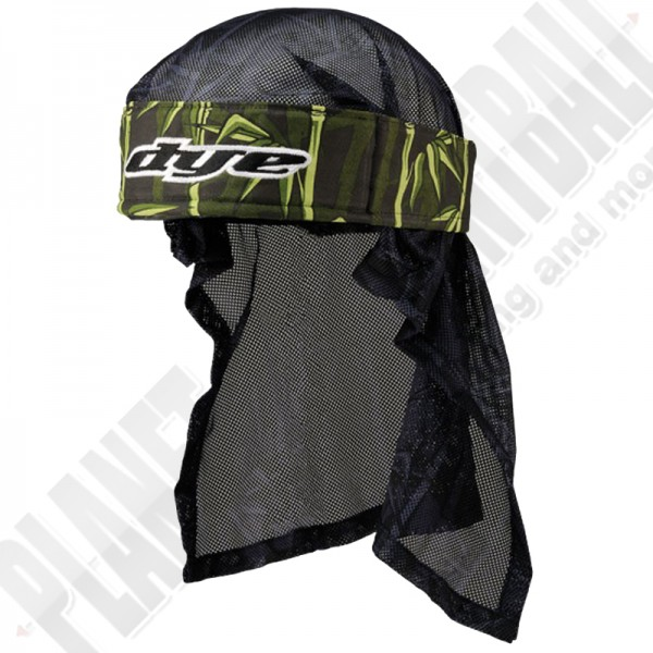 Dye Paintball Head Wrap Bambu green/black