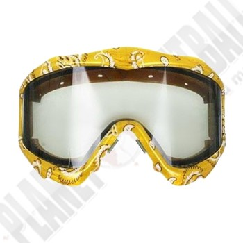 JT EPS SIC Series Masken Frame und Glas Smoke - Yellow