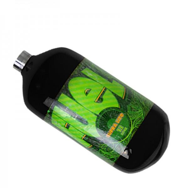 Fuel schwarz 1.1L HP SupraLite 300bar Composite Flasche