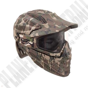 JT Flex8 Spectra camo Full Head Thermal Paintball Maske