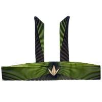 BunkerKings Tie Head Band - Woodstripe