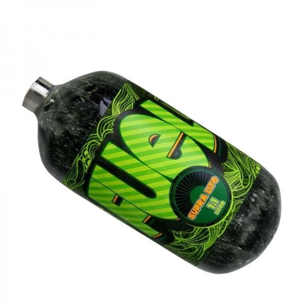 Fuel grau 1.1L HP SupraLite 300bar Composite Flasche