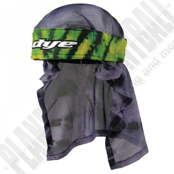 Dye Paintball Head Wrap Tie Dye