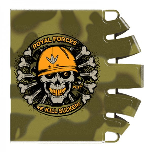 BunkerKings Knucklebutt Tank Cover - Royal Forces