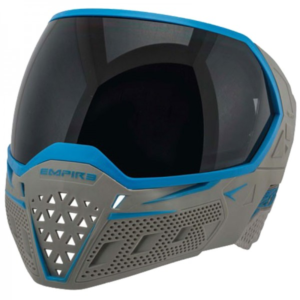 Empire EVS Paintball Maske - grey/cyan