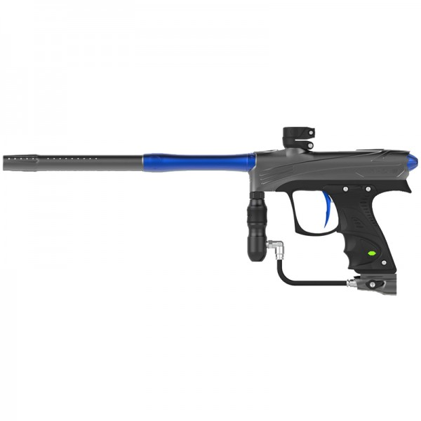 Dye Rize CZR - grey/blue Paintball Markierer Cal.68