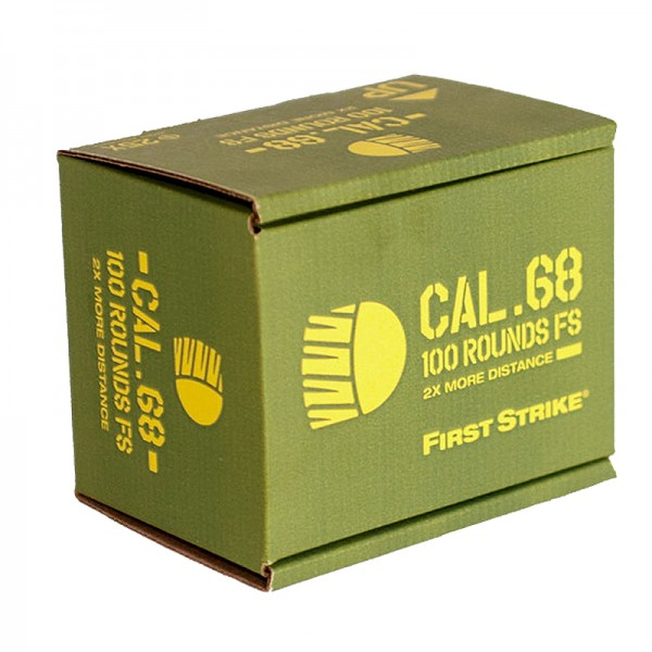 Tiberius Arms First Strike Paintballs (100 Schuss Box)