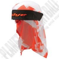 Dye Paintball Head Wrap Airstrike orange/white