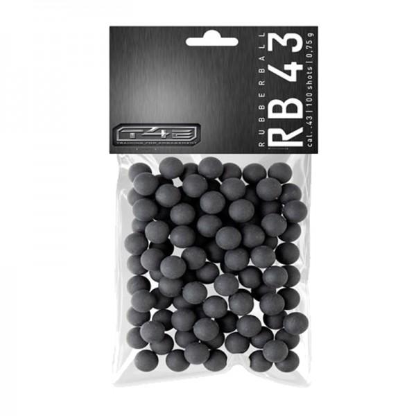 Umarex T4E RB Prac-Series Rubberballs cal.43 - 100 Stück