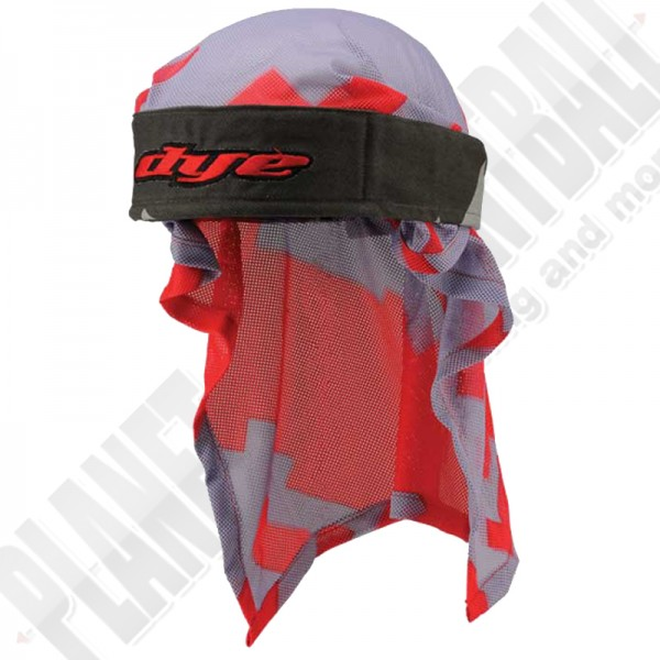 Dye Paintball Head Wrap Airstrike grey/red