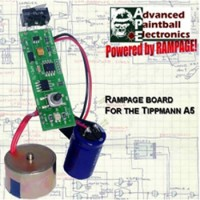 APE Rampage Board mit Powershot Solenoid - Tippmann A5