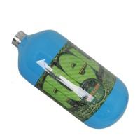 Fuel blau 1.1L HP SupraLite 300bar Composite Flasche