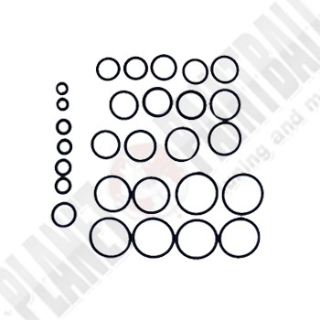 EGO 09,10,11 - O-Ring Kit 3 x