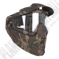JT Flex8 Spectra camo Thermal Paintball Maske