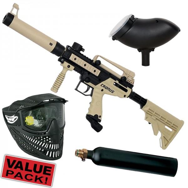 Tippmann Cronus Tactical Cal.68 Value Pack - tan