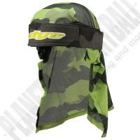Dye Paintball Head Wrap Bomber grey/lime