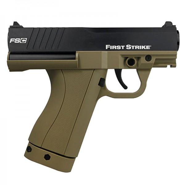 First Strike Compact Pistole FSC Paintballmarkierer Cal.68 - FDE