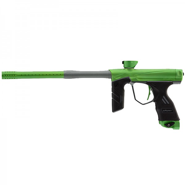 Dye DSR Lime/Grey Paintballmarkierer Cal.68