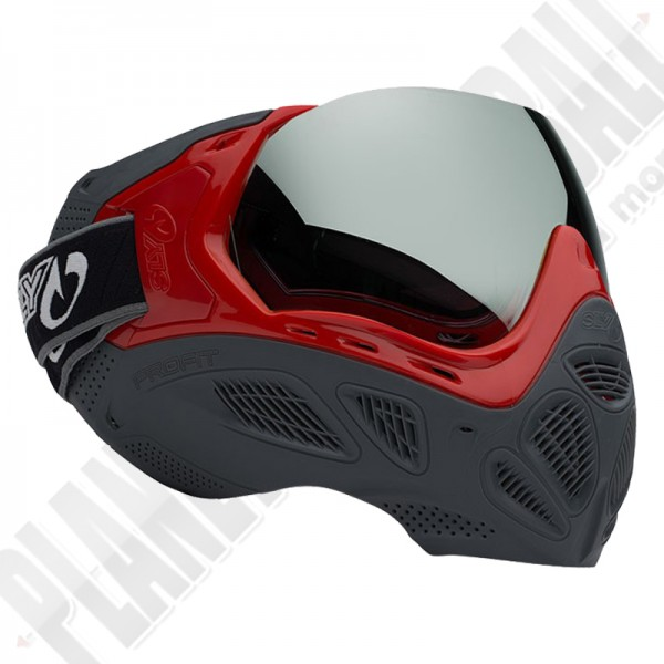 Sly Profit Paintball Maske LE - Red/Grey