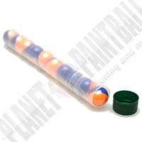 10er Paintball Tube mit Kappe