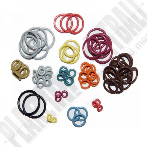 O-Ring Set 5 x Colored - Dye DM4,5,C,6,7