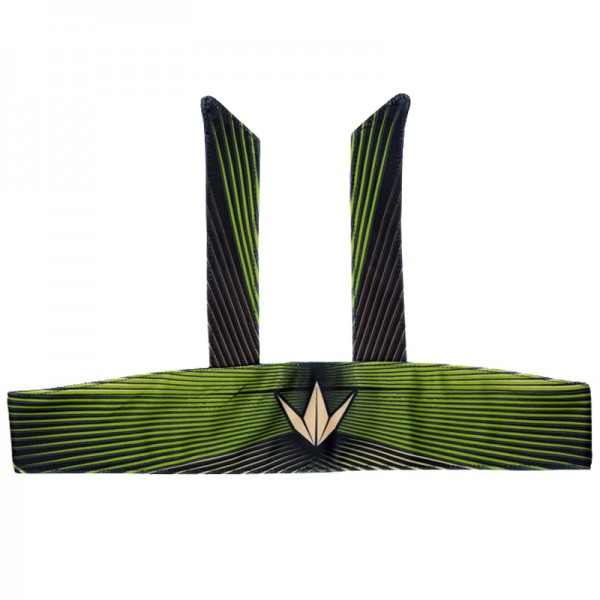 BunkerKings Tie Head Band - Woodstripe