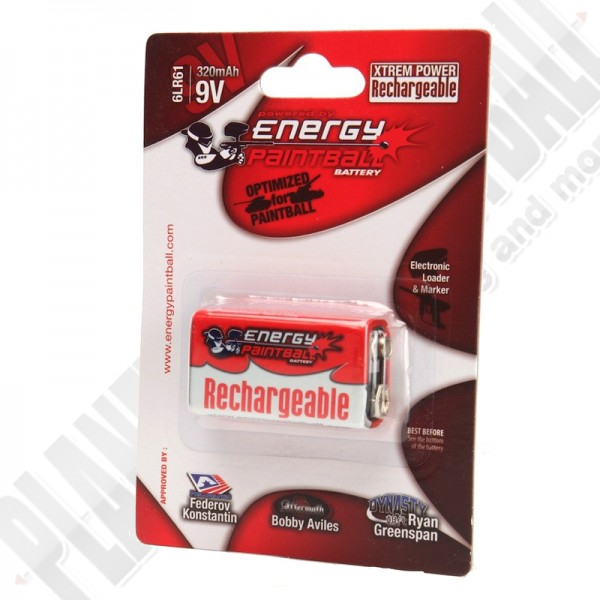 Akku 9,6V 270mAh Block Energy Paintball