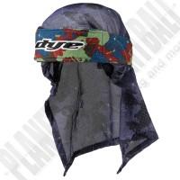 Dye Paintball Head Wrap Global red/green