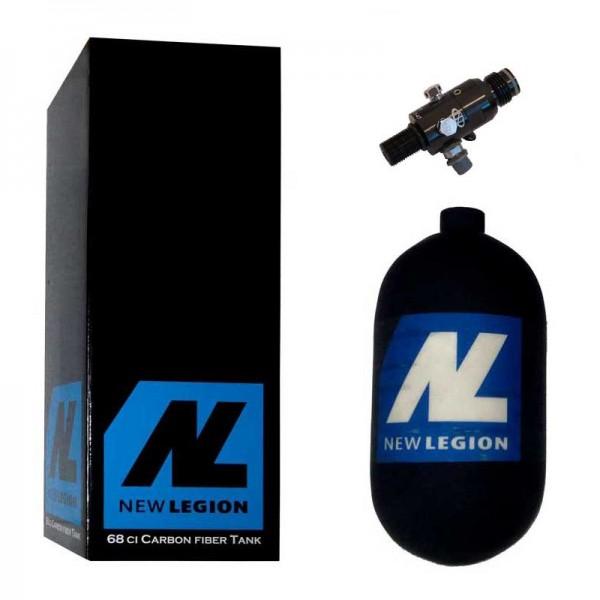 1,1 Liter New Legion Dwarf Composite HP System inkl. Dwarf Regulator