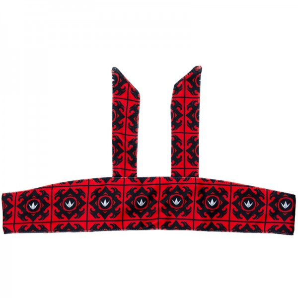 BunkerKings Tie Head Band - Royal Red