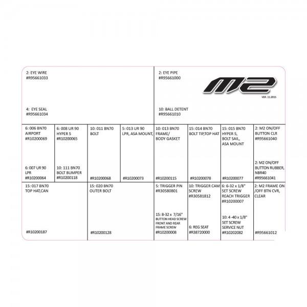 Dye M2 Repairkit Medium