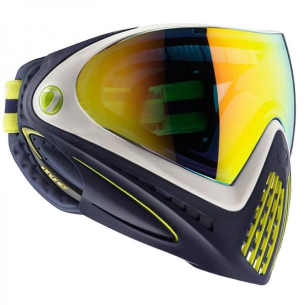 Paintball Maske DYE I4 Thermal Legion of Boom navy/lime