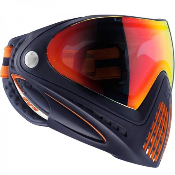 Paintball Maske DYE I4 Thermal Orange Crush navy/orange