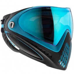 Paintball Maske DYE I4 Thermal Powder Blue black/blue