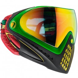 Paintball Maske DYE I4 Thermal Rasta