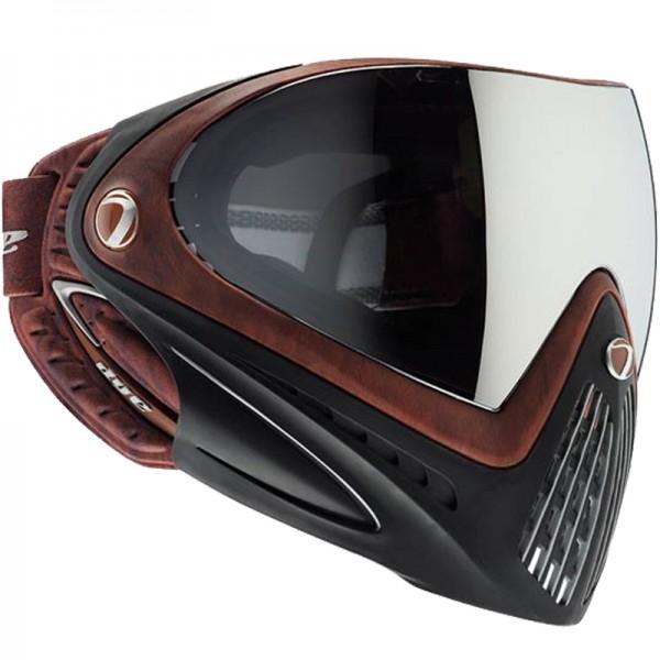 Paintball Maske DYE I4 Thermal Woody