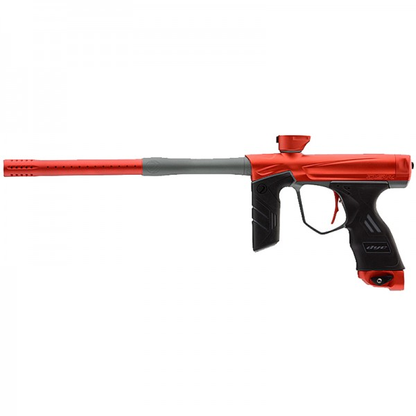 Dye DSR Red/Grey Paintballmarkierer Cal.68