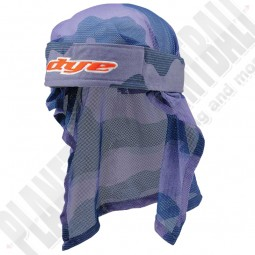 Dye Paintball Head Wrap Bomber red/blue
