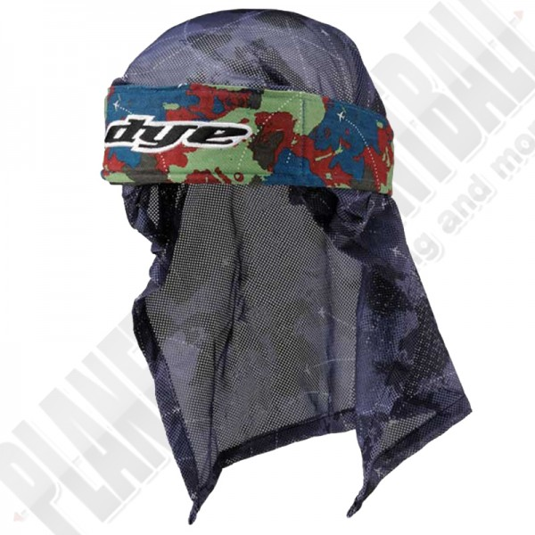Dye Paintball Head Wrap Global red/green