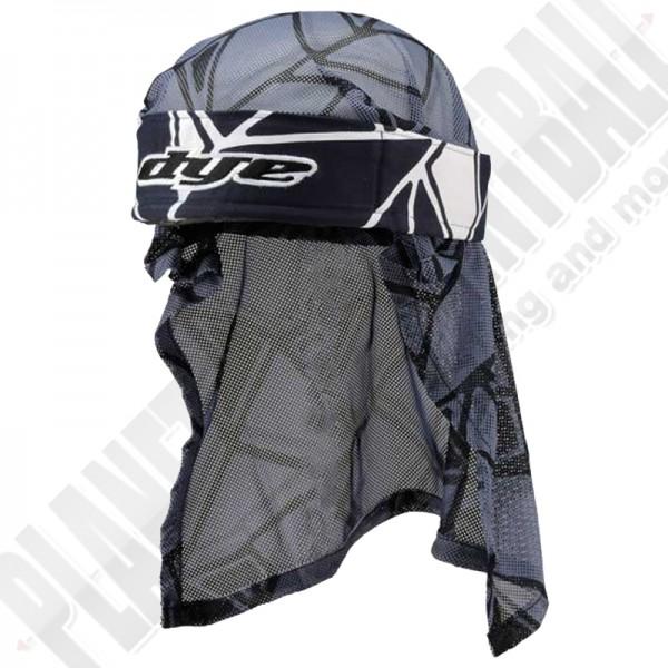 Dye Paintball Head Wrap Infused navy/black/grey