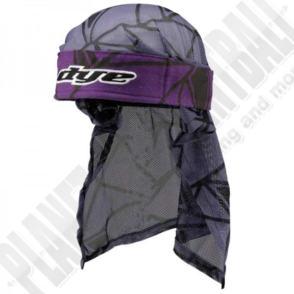Dye Paintball Head Wrap Infused purple/black/grey