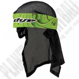 Dye Paintball Head Wrap Slime Green