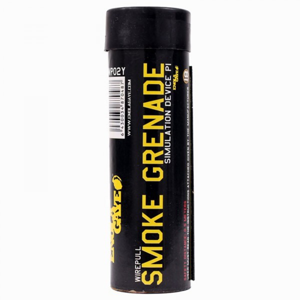Enola Gaye Rauchgranate Wire Pull - gelb