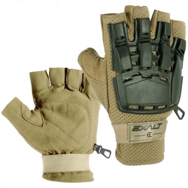 Exalt HardShell Paintball Handschuhe tan