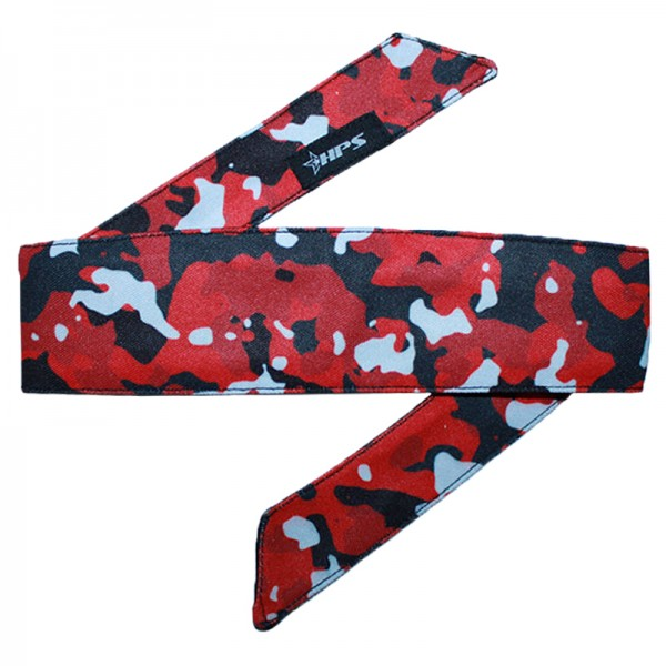 HPS Paintball Head Band - Red Camo