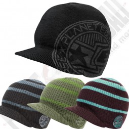 Planet Eclipse Visor Beanies