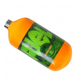 Fuel orange 1.1L HP SupraLite Composite Flasche 300Bar