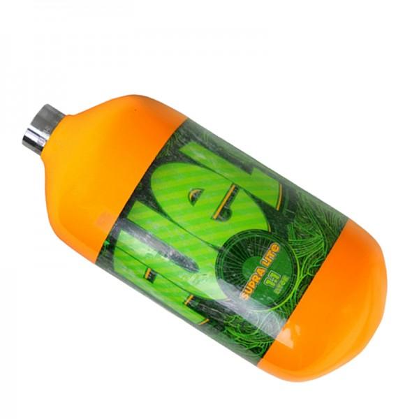 Fuel orange 1.1L HP SupraLite Composite Flasche 300Bar