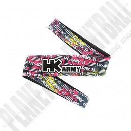 HK Army Headband Splatter Neon